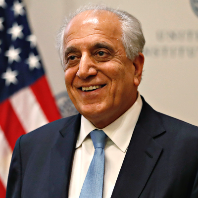 Peace through political settlement in Afghanistan US priority: Khalilzad