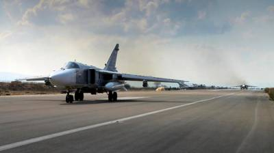 Russian Air Defence foils missiles attacks on main Air Base in Syria