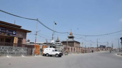 Complete shutdown marked by curfew like restrictions in Occupied Kashmir