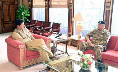 COAS General Bajwa held important security meeting with PM Khan