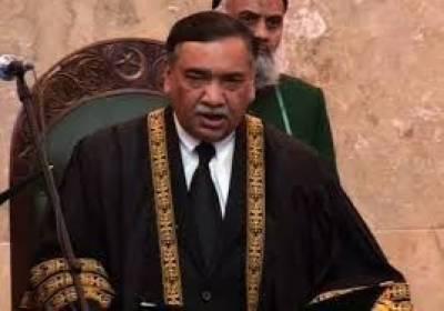 CJP Justice Asif Saeed Khosa grills NAB