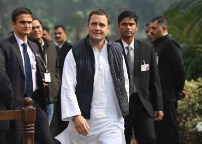 Gandhi says gloomy Indian exit polls 'fake'