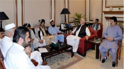 Govt to extend full support for rehabilitation of terror-affected people: KP CM