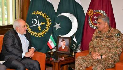 Iranian FM Javed Zarif holds important meeting with Pakistan Army Chief