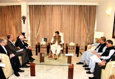 PM Imran Khan held important meeting with Iranian FM Javed Zarif