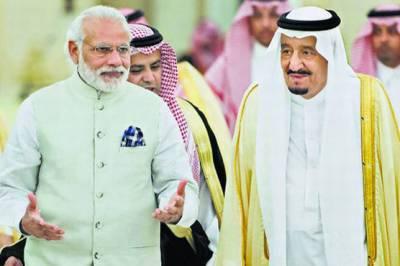 King Salman of Saudi Arabia telephones Indian PM Modi