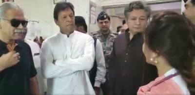 Pakistani newborn child named Imran Khan after PM Khan surprise visit to DHQ hospital Sargodha