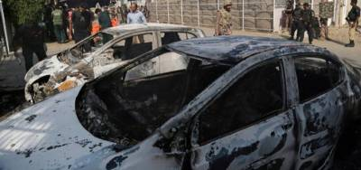 Afghan Taliban hit with a car bomb anti Pakistan Baloch terrorist leader in Kandahar, Afghanistan