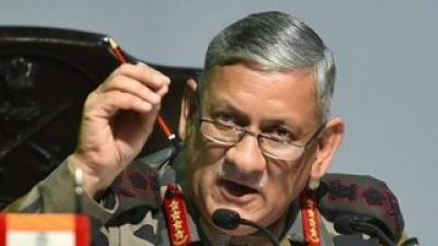 Indian Army Chief hits out at Pakistan yet again, believes Radar cannot see through clouds