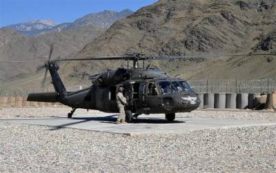 US Military helicopter destroyed in Afghanistan, several Americans hit