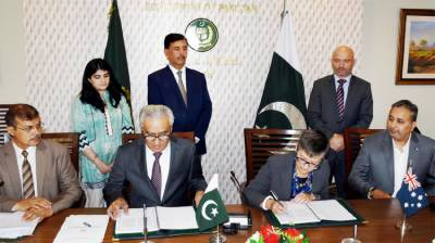 Pakistan and Australia sign multiple MoUs