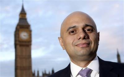 Pakistani origin British Lawmaker Sajid Javid strong contender for British PM slot