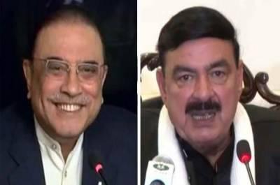 Railways Minister Sheikh Rashid makes new prediction about Asif Ali Zardari