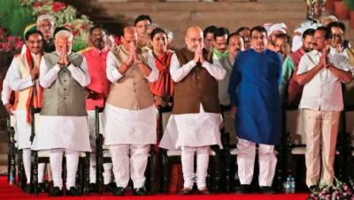 54 member Modi cabinet in India, few big surprise changes