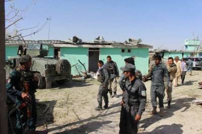 Afghan Taliban suicide attacks inside security base, claim killing 40 soldiers
