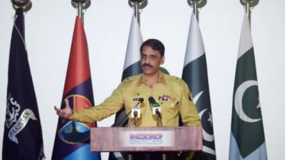 Army officers convicted of spying sent to jail: DG ISPR