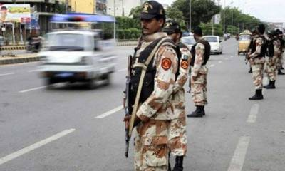DG Rangers Sindh pays surprise visit to Karachi, reviews security arrangements