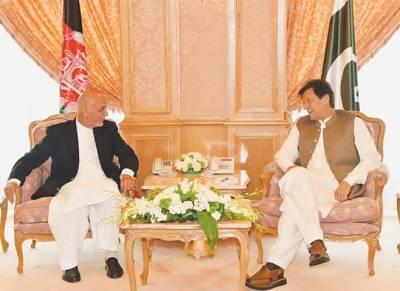 Imran, Ghani meeting to improve relations between Pakistan, Afghanistan; Zalmay Khalilzad