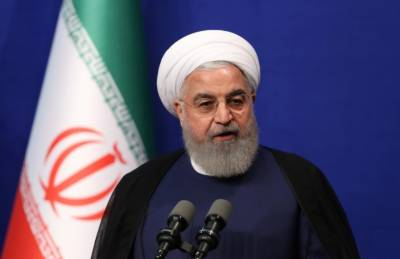 Iranian president says talks possible only if US shows respect