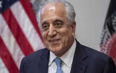 Khalilzad arriving in Islamabad today to advance peace process in Afghanistan