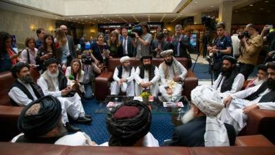 Taliban delegation in Moscow says