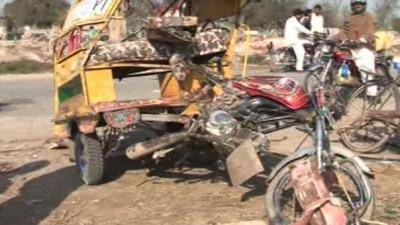 Two killed in road accident near Sahiwal