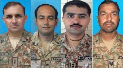 Four army personnel martyred in IED blast in North Waziristan