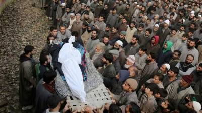 Indian troops martyr four Kashmiri youth in Pulwama