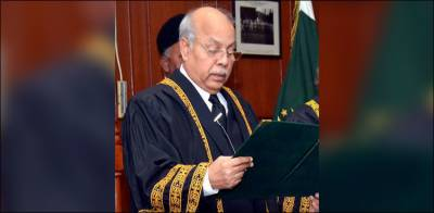 Justice Gulzar Ahmed takes oath as acting Chief Justice of Pakistan