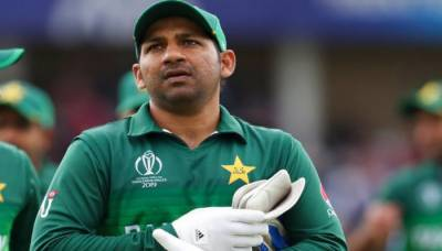 Pakistani Captain Sarfraz Ahmed is disappointed