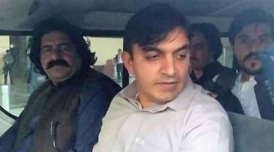 PTM leader Mohsin Dawar sent to Central Jail Peshawar on judicial remand