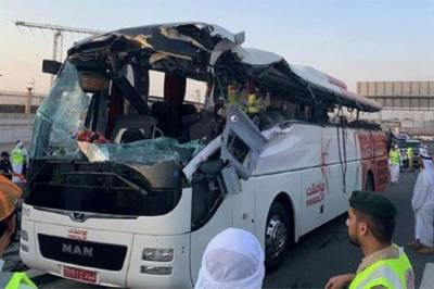 Two Pakistani died in a Bus Crash in UAE