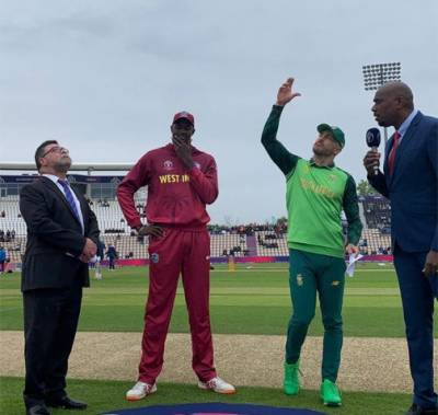 Cricket World Cup: South Africa v West Indies match rained off