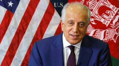 Withdrawal of US forces from Afghanistan linked with peace: Zalmay