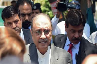 Asif Ali Zardari rushed to hospital in emergency