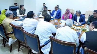 PM, MNAs from Sindh discuss overall situation of province