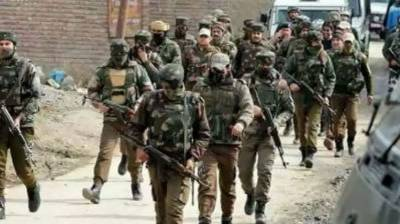 Indian troops launch cordon, search operations in Pulwama district