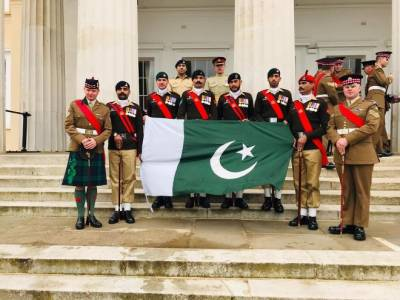 Pakistan Army wins international military drill competition in UK