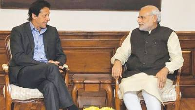 Pakistan PM Imran Khan and Indian PM Modi met on sidelines of SCO summit