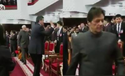 Pakistan PM Imran Khan completely ignored Indian PM Modi at the SCO Conference