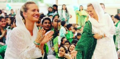 Shaniera Akram, wife of legendry Wasim Akram sets a new example of patriotism for Pakistanis