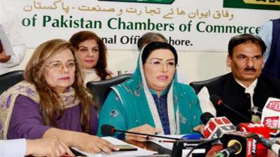 Business community to be taken on board for country's progress: SAPM Firdous