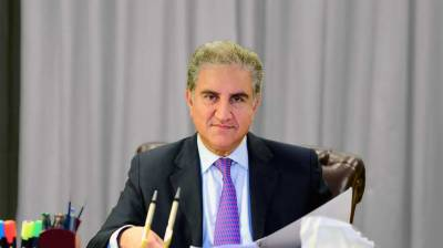 FM Qureshi in UK to hold bilateral meetings with British leadership