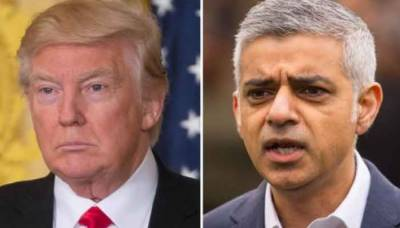 US President Donald Trump launches fresh attack against London Mayor Sadiq Khan