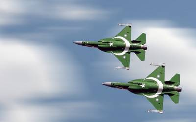 3 PAF JF 17 fighter jets roar in skies of Paris for biggest International Airshow
