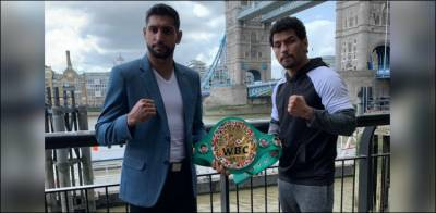 British Pakistani Boxer Amir Khan vows to avenge Pakistan defeat against India