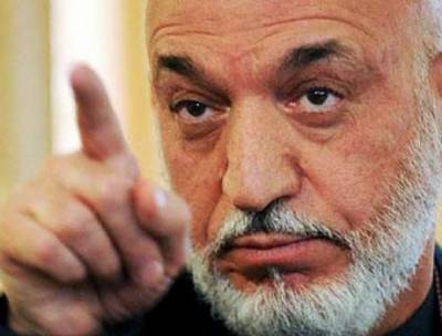 Former Afghan President Hamid Karzai lashes out at America
