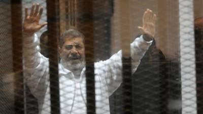 Former Egyptian President Mohammad Morsi dies