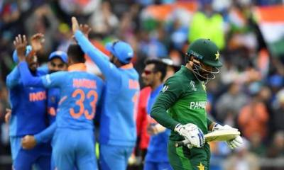 India beats Pakistan through DLS method in World Cup Match