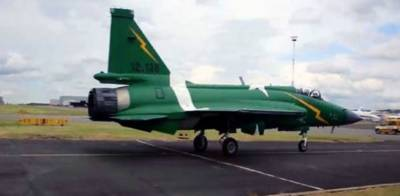 PAF pride JF 17 fighter jet steals the show at the Paris Airshow